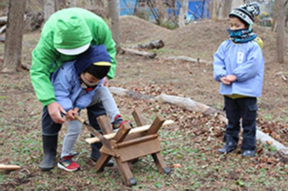 森での活動8