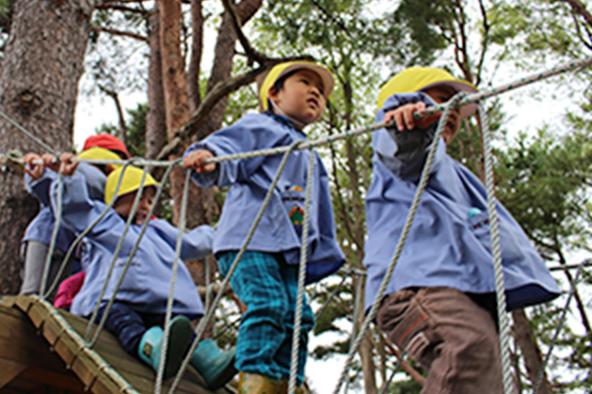 森での活動5