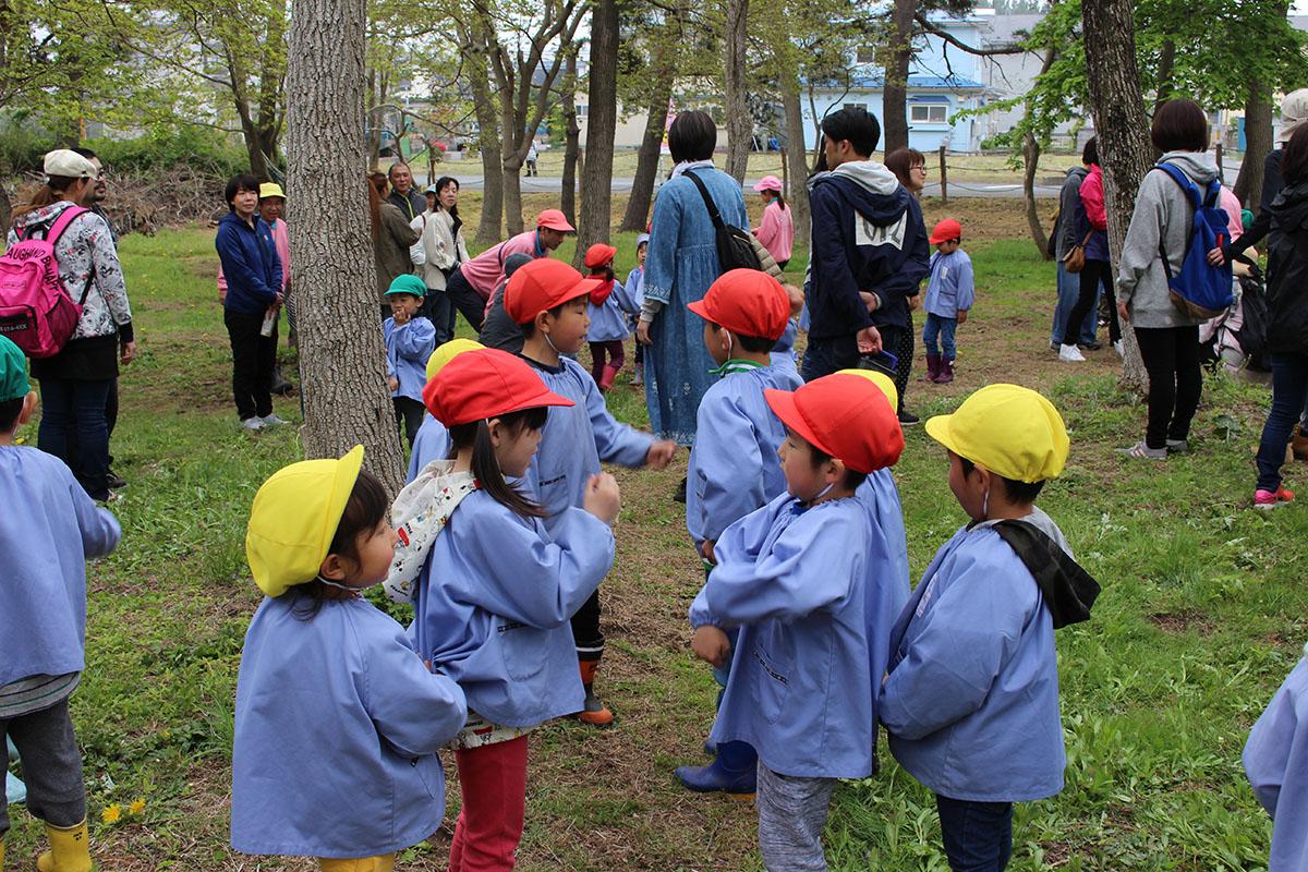 森の参観日ゲーム