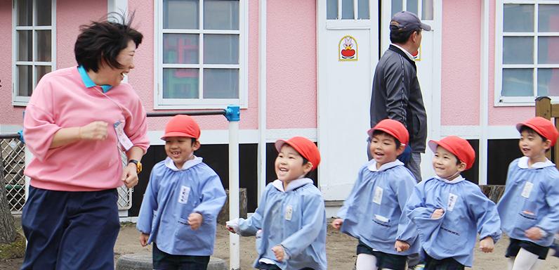 私たちと一緒にかもめ幼稚園で働きませんか?