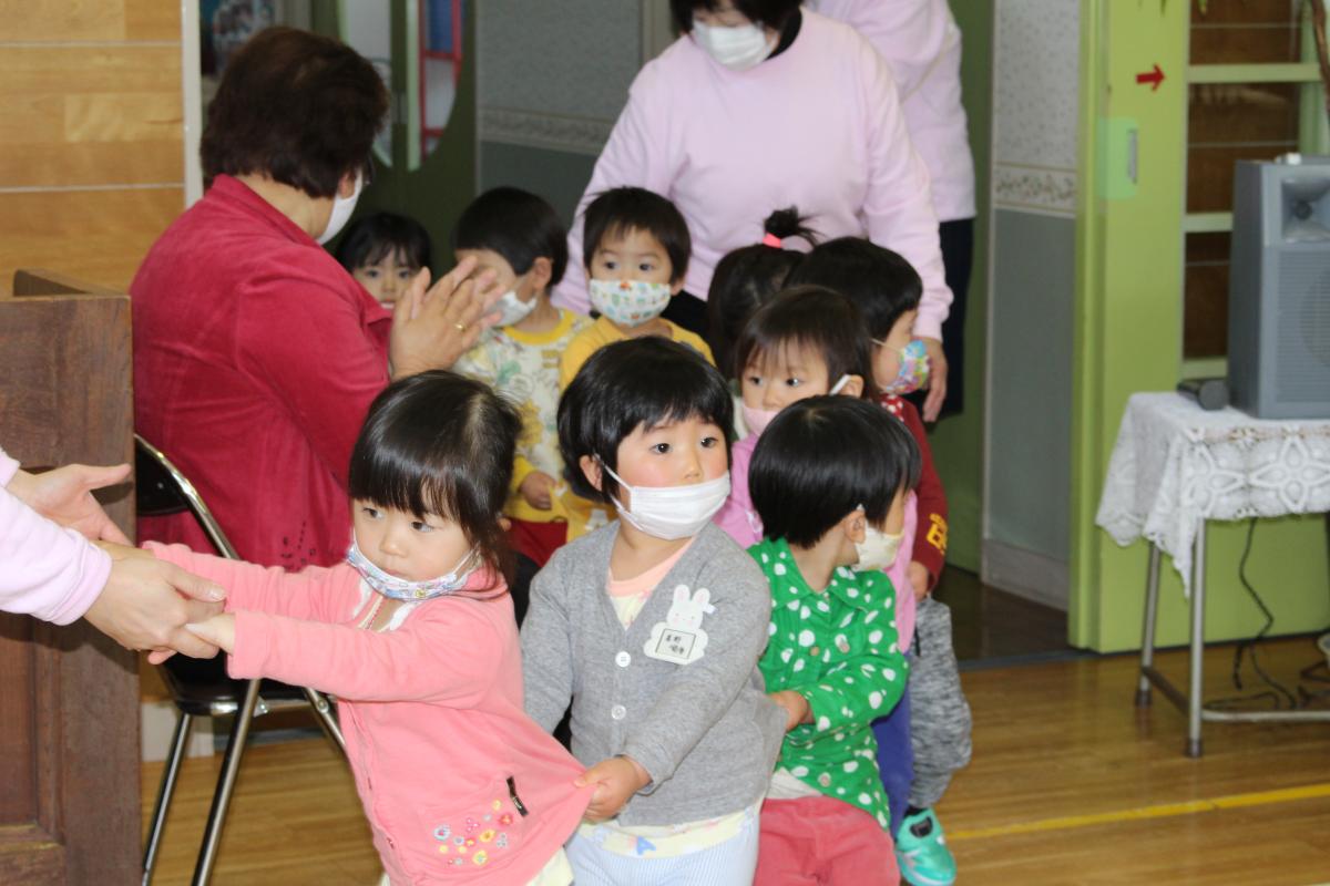 赤十字登録式(2才児)